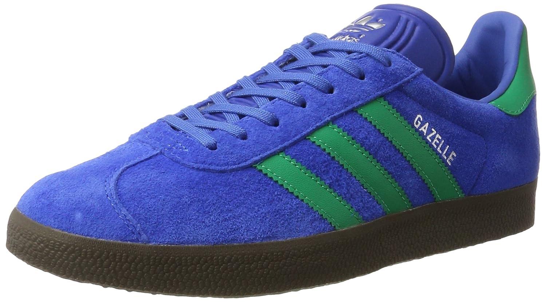 Adidas Originals Gazelle, Zapatillas de Deporte Unisex Adulto 46 EU Azul (Blue/Core Green/Gum)