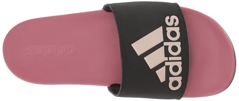 Adidas Originals Adilette, Komfort Damen schwarz/Vapour Grau Metallic/Trace Metallic/Trace Grau Maroon 8b8740