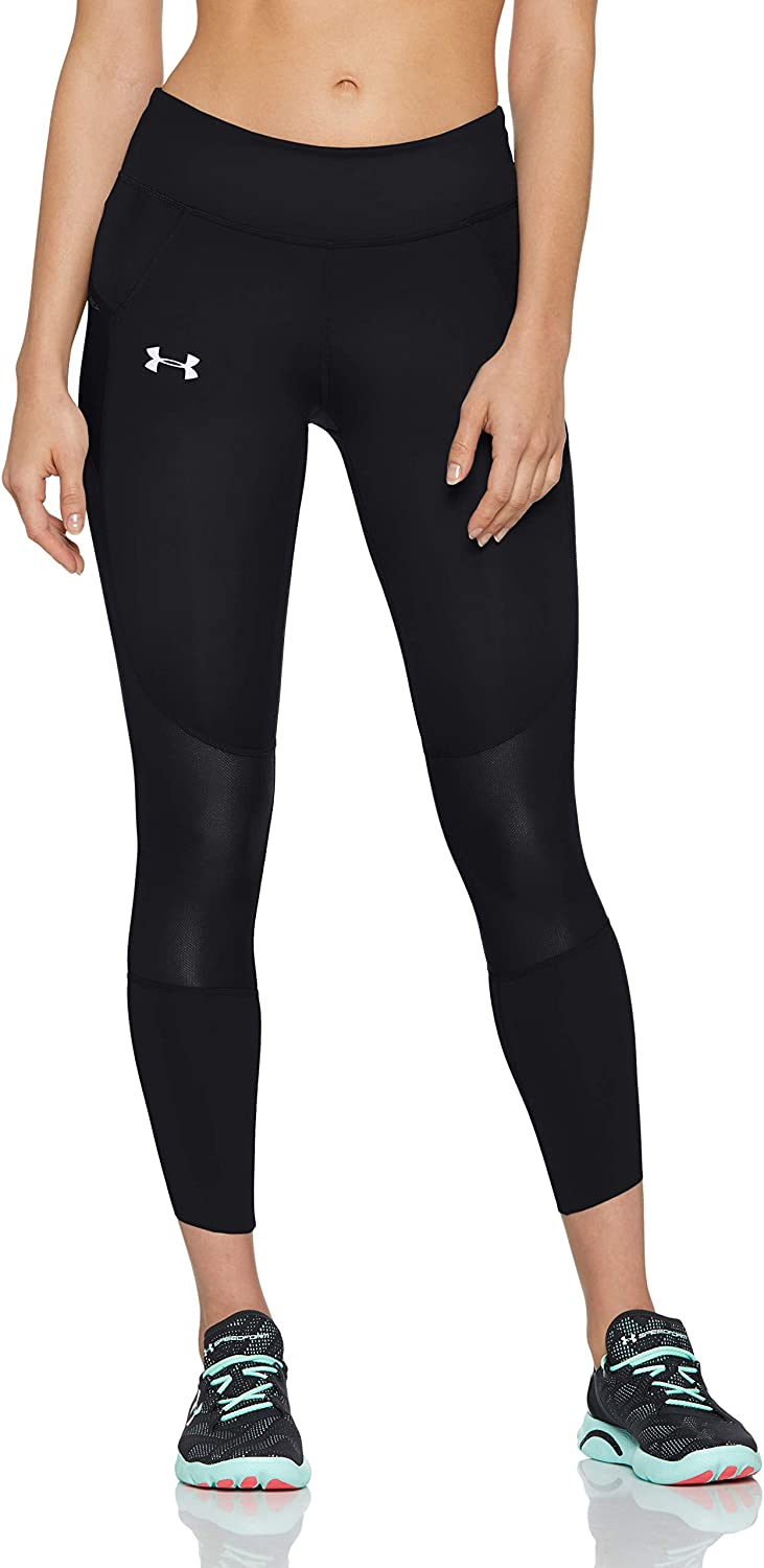 TALLA S. Under Armour UA Speedpocket Run Crop - Leggings Capri Mujer