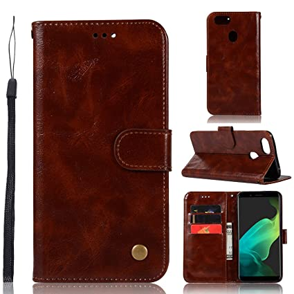 Amazon.com: Oppo F5 Funda, Oppo F5 Plus Funda Cartera, Oppo ...