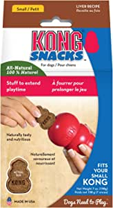 KONG Snacks, All Natural Dog Treats, Liver Biscuits, Small