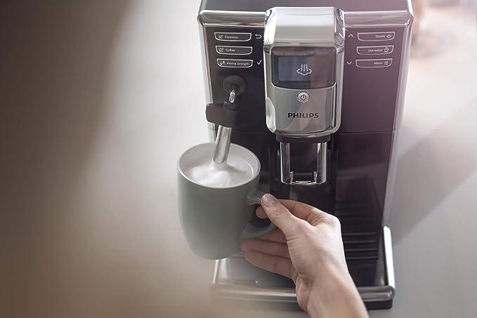 Philips 5000 series - Cafetera (Independiente, Máquina espresso, 1,8 L, Granos de café, Molinillo integrado, Negro): Amazon.es: Hogar
