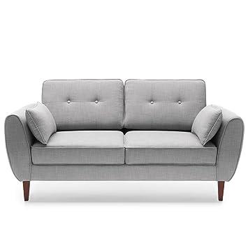 Moebella Designer Sofa Couch 2 Sitzer Mores Skandinavisches