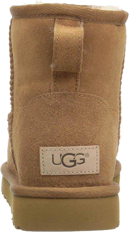 UGG Classic Mini II Che, Bottes de Neige Femme Marron Chestnut