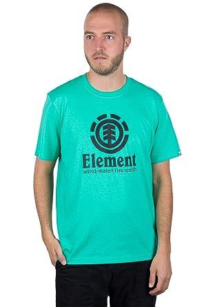 Element Vertical - Camiseta de Manga Corta - Verde - X-Small ...