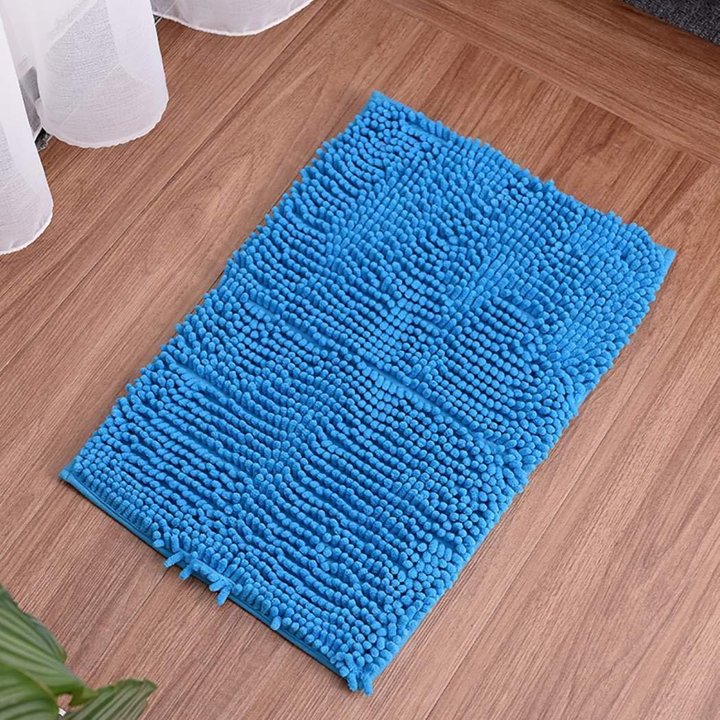 wumedy Bath Rug Non-Slip Soft Absorbent Home Bathroom Floor Mat Mattress Pads