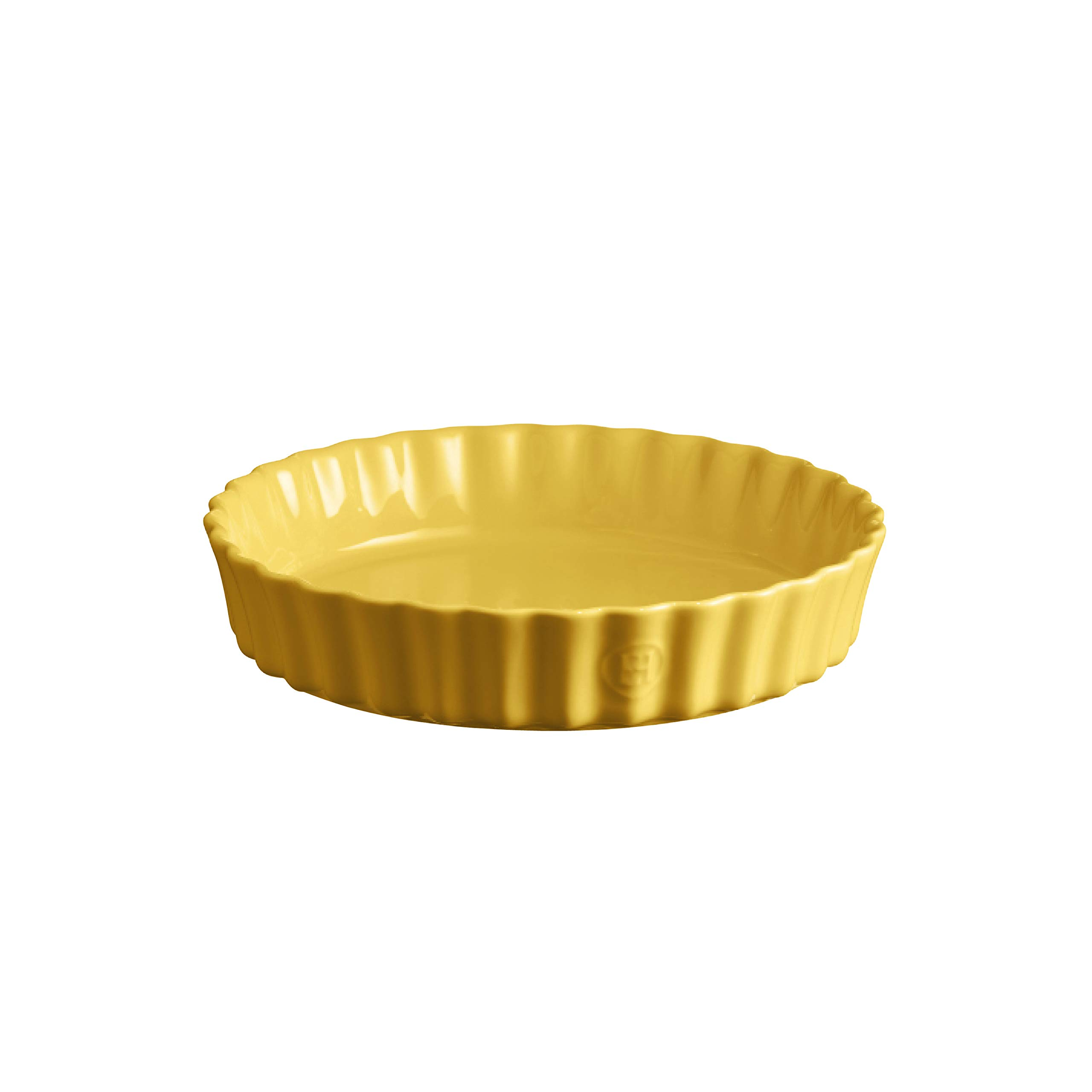 Emile Henry 906024 Deep Flan, Provence Yellow Quiche Dish, 1.2 qt,