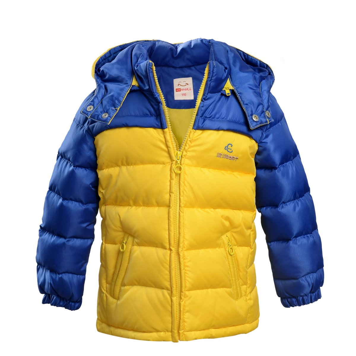 Pacific Trail Boys Puffer Coat with Print Blocking Pacific Trail Boys 8-20 2F53175