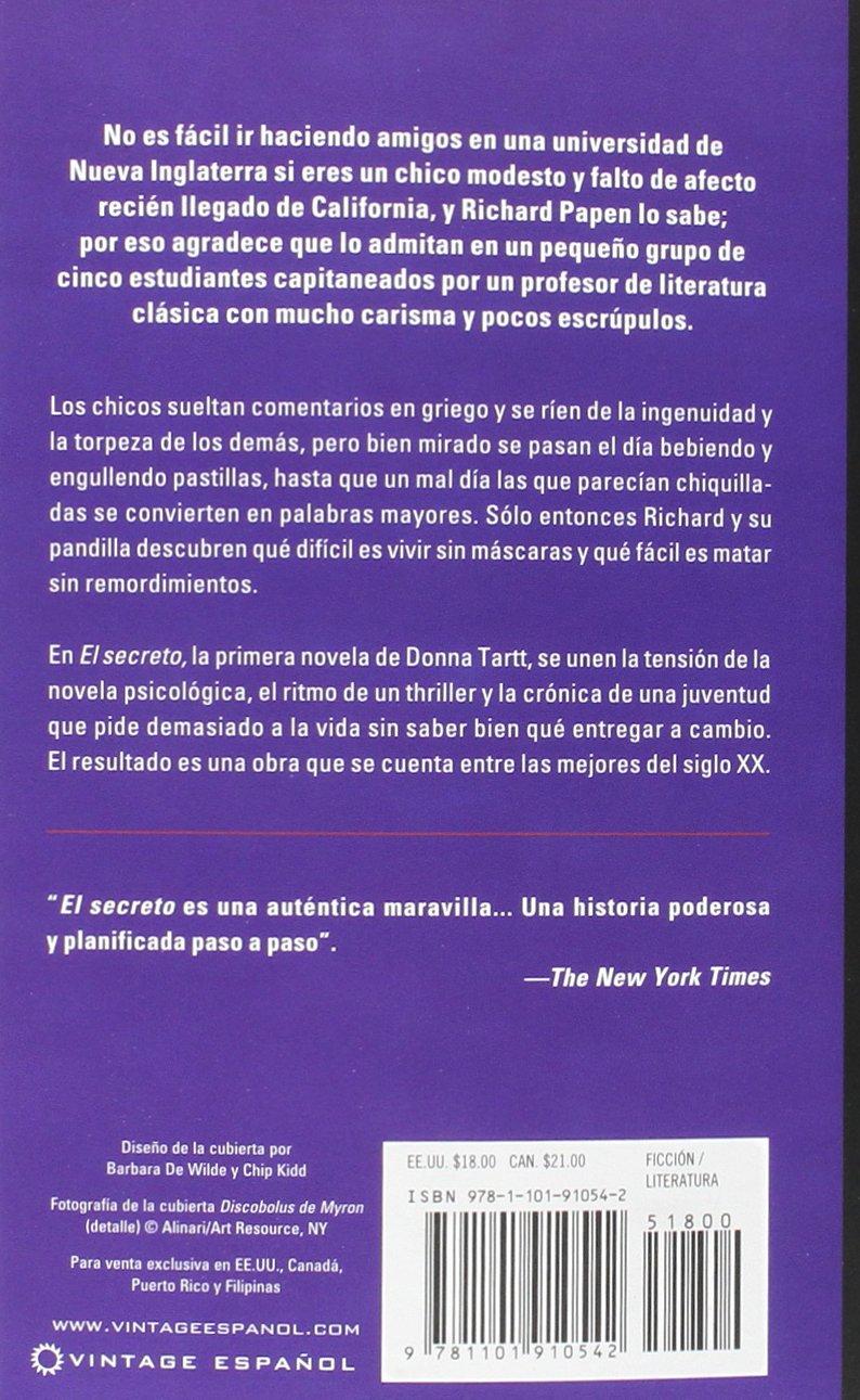 El Secreto Spanish Edition Donna Tartt  Amazon - Que es us zip code