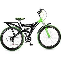 Hero Ranger DTB-VX 26T 6 Speed Mountain Cycle (Green/Black)