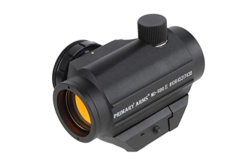 Primary Arms Classic Series Micro Red Dot Sight (Gen II) - 2 MOA, Removable Picatinny Mount, Est. 1000 Hour Battery Life