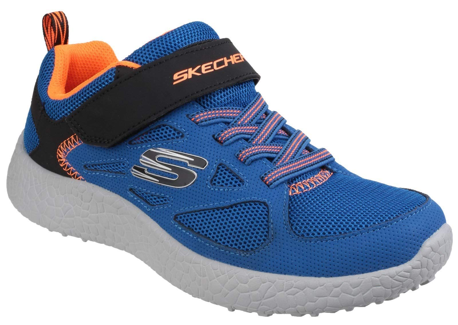 Skechers Kids Burst Power Sprints Trainer Blue Black Size UK 11.5 EU 29