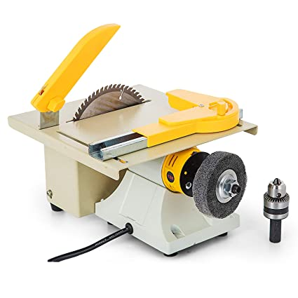 Mophorn Table Saw Multifunctional Portable Benchtop Table Saw