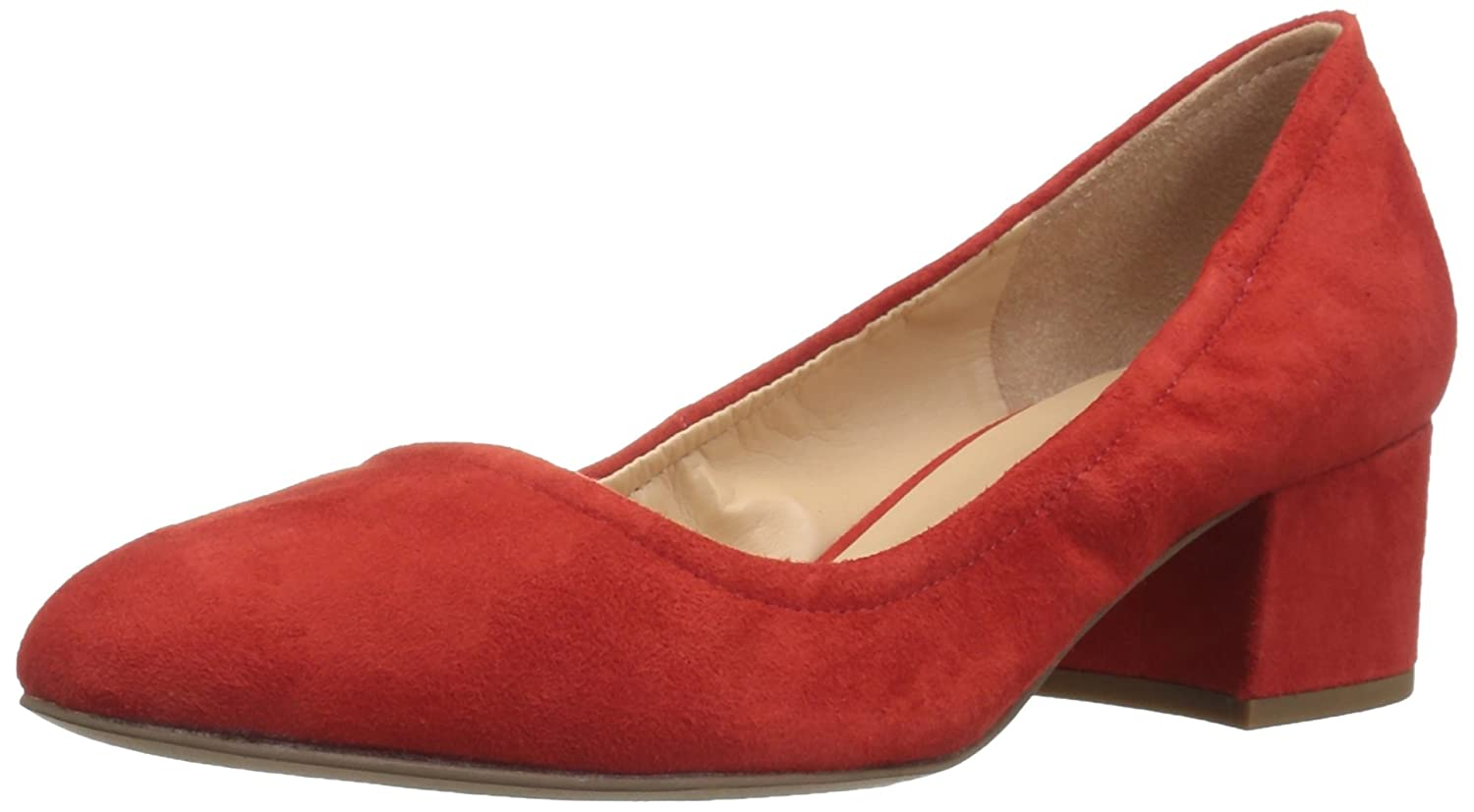 Franco Sarto Women's Fausta Pump B06XS65K23 8.5 B(M) US|Bright Red