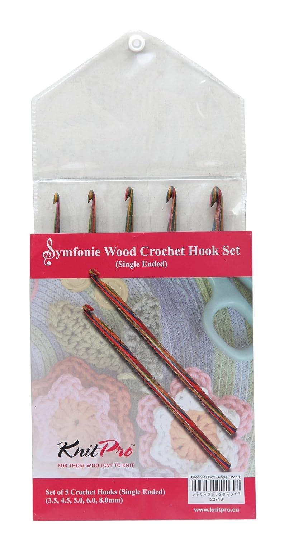 KnitPro KP20716 | Symfonie Single Ended Crochet Hook Set