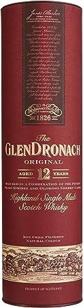 GlenDronach 12 Year Old Sherry Cask Single Malt Whisky, 700 ml