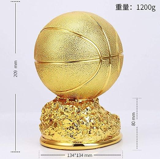 Mdzzkcd - Escultura artesanía en Resina Gran balón de Oro Trofeo ...