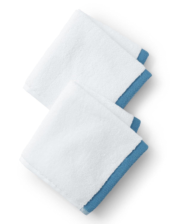 Toallas de rizo de algodón, toalla con dobladillo, colores surtidos (paquete de 6): Amazon.es: Hogar
