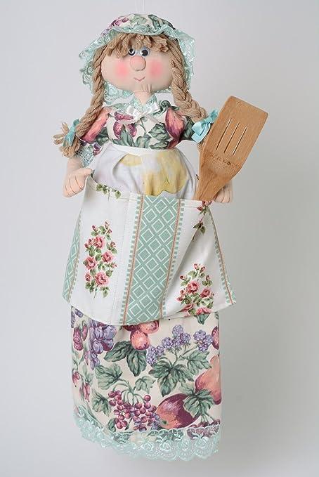 Muneca decorativa juguete para guardar bolsas hecho a mano ...