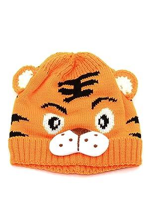 Baby Mädchen Jungen Kinder Kleinkinder häkeln stricken Tiger Muster ...
