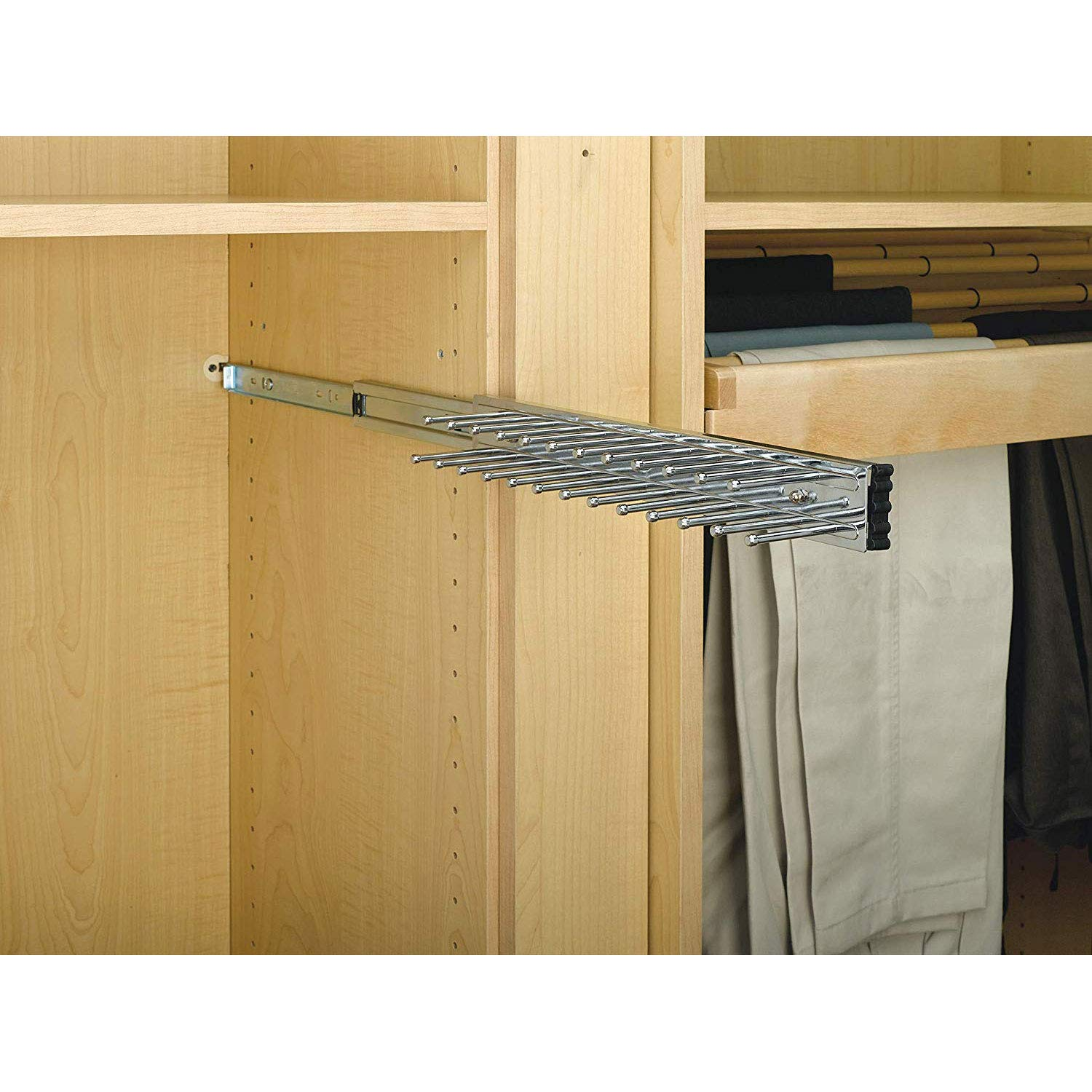 "Amazon.com: Rev-A-Shelf - Corbatero de 14"" de montaje ..."