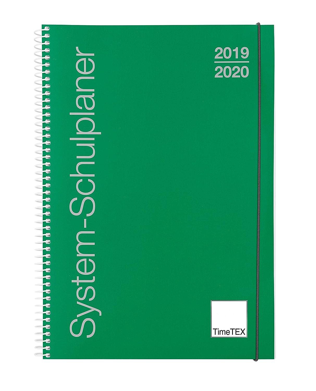 TimeTex - 10740 Cuaderno agenda, A5 Plus verde, de anillas ...