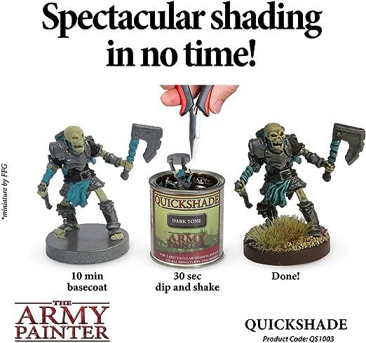THE ARMY PAINTER SENT FIRST CLASS SOFT TONE QUICKSHADE QS1001