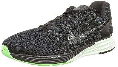 info for ce93a 6292f Nike Lunarglide 7 LB, Chaussures de Running Homme, Noir (Negro), 44