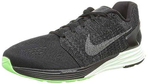 sneakers for cheap 8690b a4848 Nike Lunarglide 7 LB, Zapatillas de Running para Hombre, Negro, 46 EU   Amazon.es  Zapatos y complementos