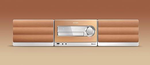 Philips BTM5000 - Microcadena estéreo (control de volumen, mando a distancia, sintonizador), plata [importado]: Amazon.es: Electrónica