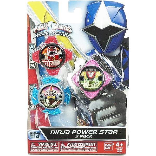 Power Rangers Pack de Estrellas 43750, Multicolor: Amazon.es ...