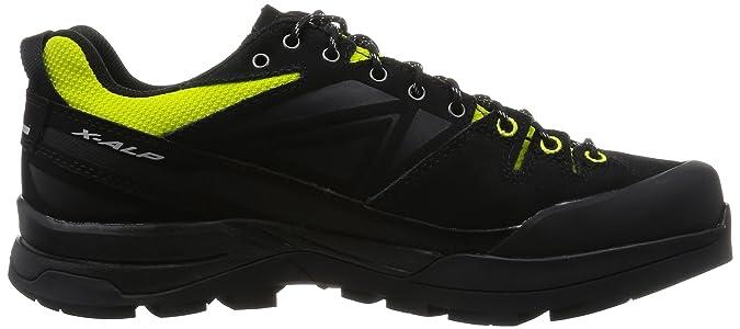 a1663f2ea653 Salomon Mens X Alp Leather Gore-Tex Trail Running Shoes - SS17 - 7.5   Amazon.ca  Shoes   Handbags