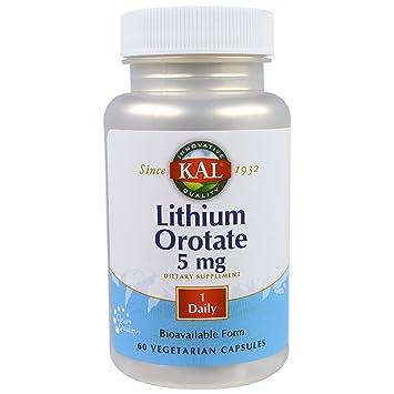 Lithium orotate overdose