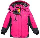Wantdo Girl's Hooded Ski Mountain Fleece Jacket