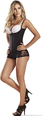 Womens Bodysuit Extreme Body Shaper Thermal Thong Shapewear Faja Colombiana