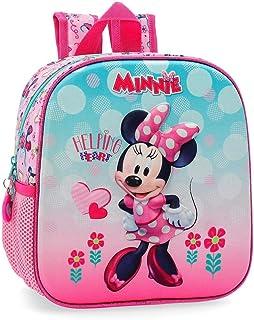 Disney Minnie Heart Beauty Case da viaggio 22 centimeters 1.32 Rosa