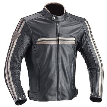 Ixon - Chaqueta de moto para Heroes, Negro, talla L: Amazon ...
