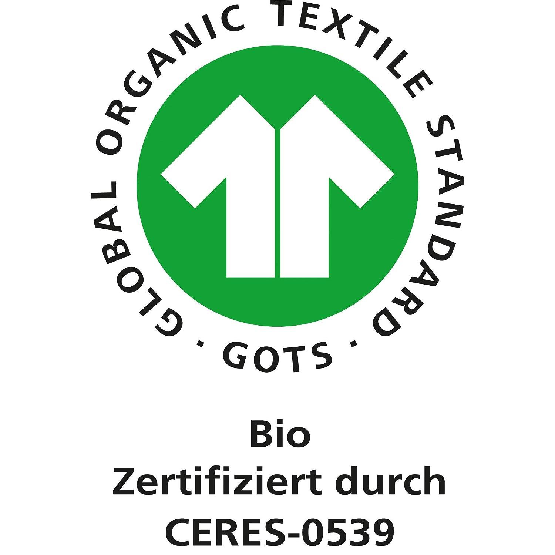 W/örner Bio Kinder-Waschhandschuh 3er-Pack Frottier blau-gr/ün-gelb Gr/ö/ße 15x21 cm