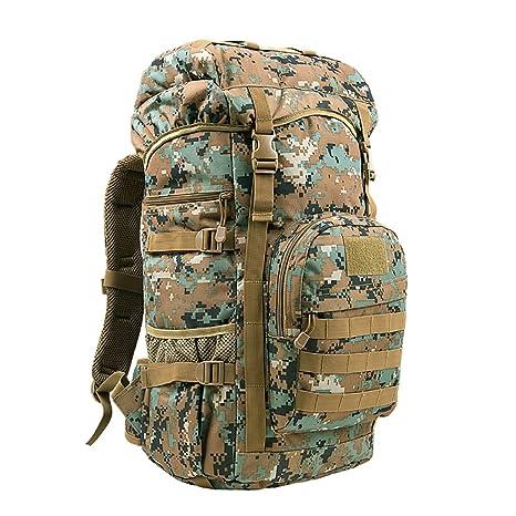 mochilas montaña 50L / hombres y mujeres de gran capacidad de los hombros de espalda al aire ...