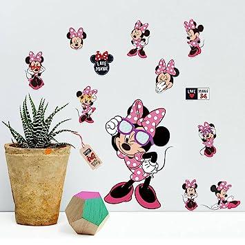 Minnie Mouse Maus Wandtattoo Wandaufkleber Tattoo 20 x 30 cm *NEU ...