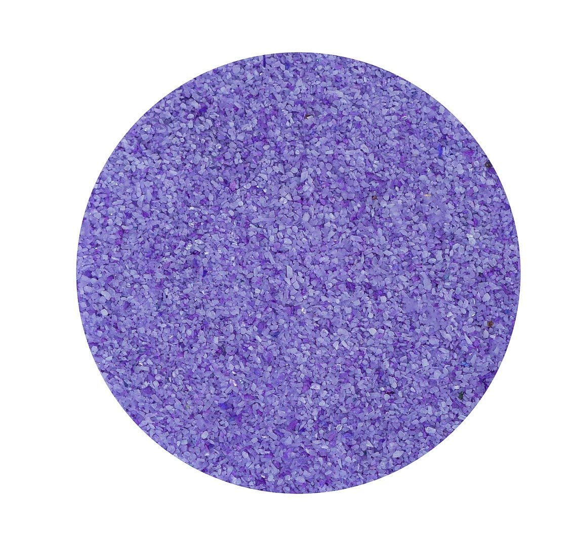 Colored Sand for Crafts | Lavender Sand | for Wedding Sand Ceremonies, Fairy Gardens, Terrariums, or Any Craft | (2 Pound) | Plus Free Nautical Ebook by Joseph Rains