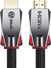 4K HDR HDMI Cable 15ft - High Speed HDMI 2.0 Ultra HD Cord - Supports 4K 60hz, 1080p 240hz, 3D 120hz, HDCP 2.2 and ARC - 24AWG by iBirdie