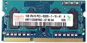 HYNIX HMT112S6BFR6C-G7 1GB DDR3 PC3-8500S 1066MHZ Laptop Memory