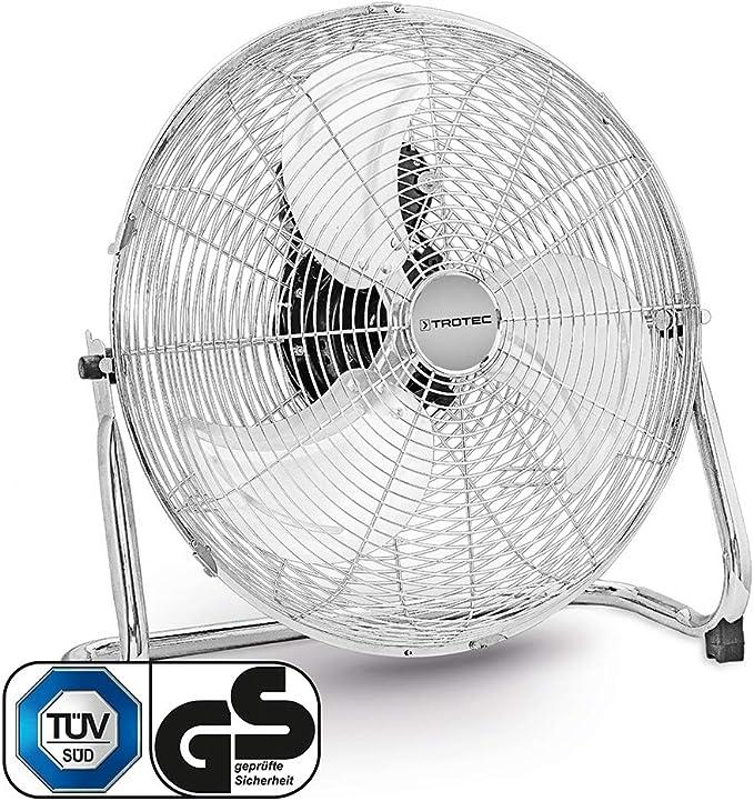 TROTEC Ventilador de Suelo TVM 18, 100 W, Potente, 3 Velocidades ...