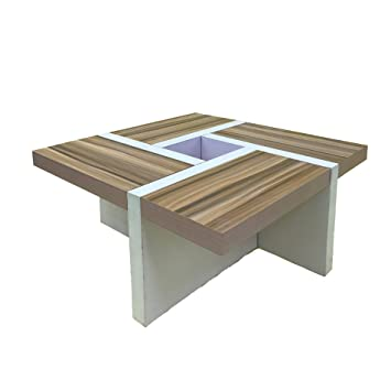 Rebecca Mobili Table De Salon Table Basse Bois Design Moderne Sejour