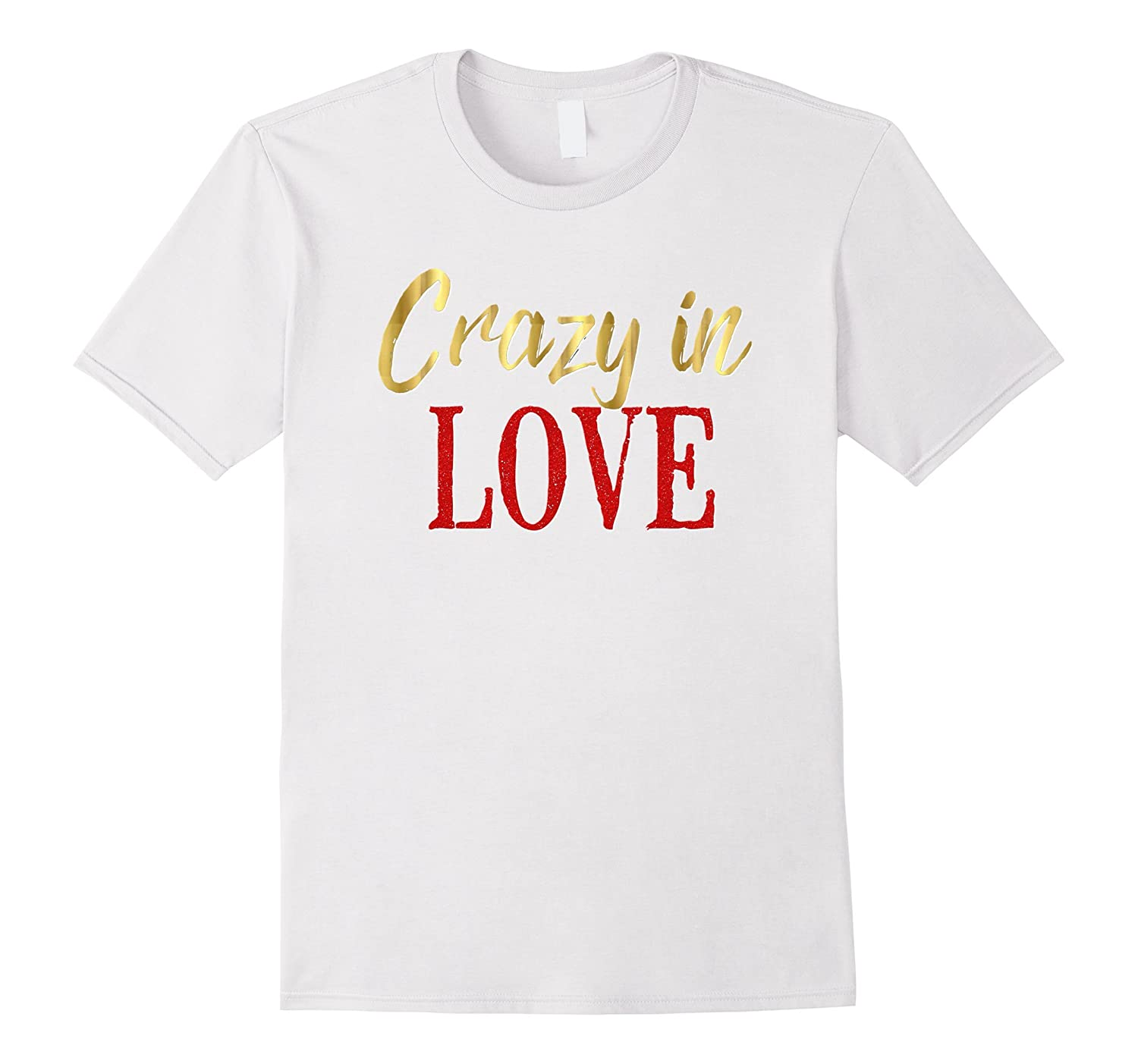 Bride Shirt Crazy In Love Wedding Bachelorette Party Hen