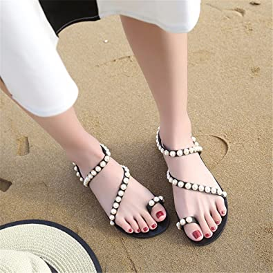 GAOQIANGFENG frau sommer outdoor - schleudern mit flachen boden.  schwarz
