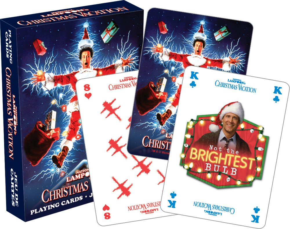 Amazon.com: Aquarius Christmas Vacation Playing Cards: Toys & Games
