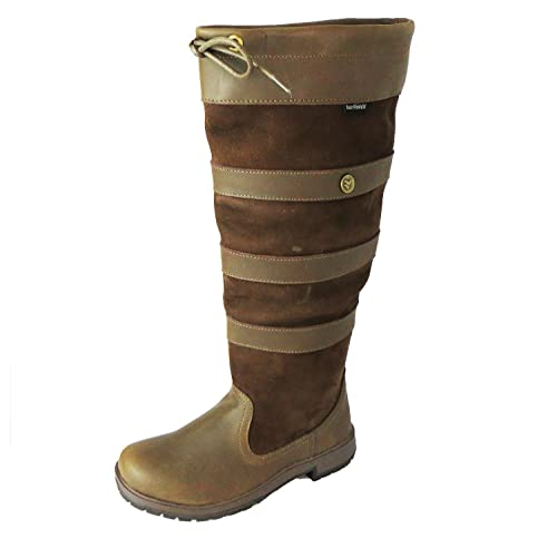 cfc4fe0e991d Size 4 Wyre Valley Women's Eventer Leather Knee High Boots: Amazon ...