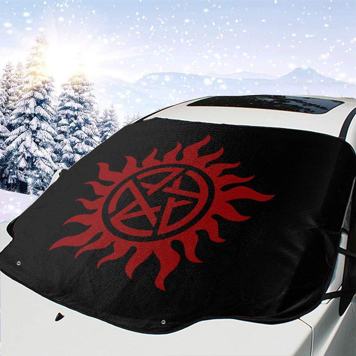 New Unique Custom Supernatural UV Rays Protection Windshield Visor Car Sun Shade